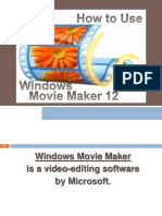 Christine_Isip_How to Use Movie Maker 12