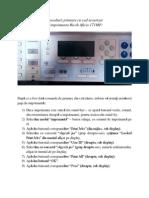 Procedura Printare Cu Cod Securizat La Imprimante Ricoh Aficio 171MP