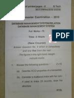 rdbms question paper