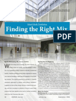Finding the Right Mix