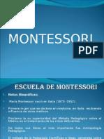 ESCUELA DE MONTESSORI