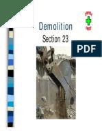 Demolition Diapositif