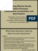 Faculty Eval PPT