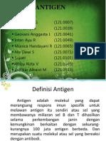 Kelompok 1 - Antigen