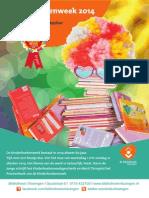 Flyer Kinderboekenweek 2014