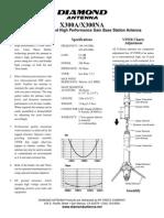 X300A & X300NA Instructions