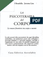 Boadella - Liss - La Psicoterapia Del CORPO