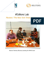 White Paper of Reuters / NYT Editors Lab