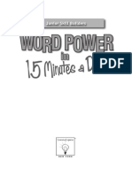 Word Power in 15 Minutes a Day