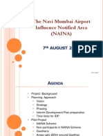 Navi mumbai airport Revised NAINA Presentation