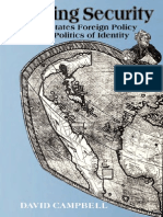 Writing Security United States Foreign Policy and the Politics of Identity 1992