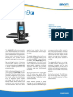 Snom m9r Cordless VoIP DECT Phone