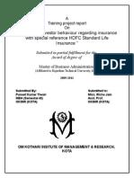 HDFC Final Report Puneet