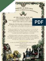 Invitation Hamburg - most unusual funeral in High Spirit