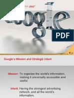 Google Strategic Plan-ppt