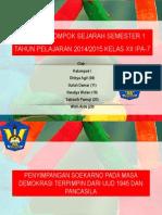 Penyelewengan Soekarno