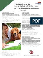 Hela Programmet för  Dyslexiveckan i Halmstad