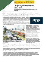 2014 Texto Sobre Mobilidade Urbana