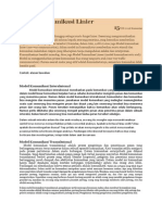 Model Komunikasi Linier