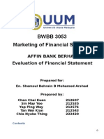 ANALYSIS ON FINANCIAL STATEMENT.doc