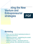 Marketing for New Ventures