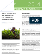 State of Food Insecurity in the World