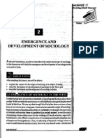 L-2 Emergence and Development of Sociology_emergence and Development of Sociology (569 Kb)