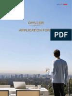 Oyster Grande Applicationform