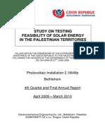 Final Annual PV Report Betl Apr09 Mar10