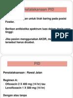Pengobatan PID