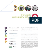 Newcastle Photography Festival Brochure