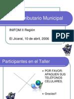 Derecho Tributario Municipal