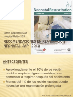 Rcp2010reanimacinneonatal Aap 2010 Lobitoferoz13 110401160419 Phpapp01