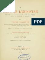 Fabre d Olivet Antoine - Le Sage de l Indostan