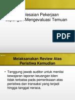 Penyelesaian Pekerjaan Lapangan Mengevaluasi Temuan.pptx