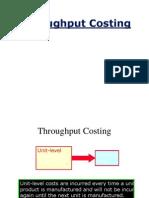Throughtput Costing