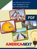 America Next Energy Plan - Organizing Around Abundance