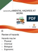 Environmental Hazards at Work