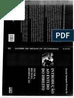 Instrodução o Estudo Do Direito - Tercio Sampaio (1)
