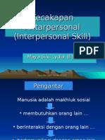 Bagian 1 Definisi Interpersonal Skill