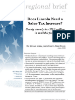 Does Lincoln need a sales tax increase?
