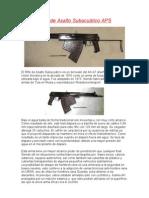 Rifle de Asalto Subacuático