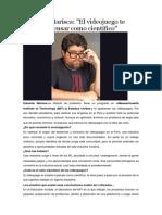 Eduardo Marisca y Los Juegos en Web