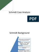 Group 3- Schmidt Case Analysis