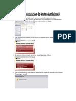 Manual de Instalación de Norton Antivirus 8
