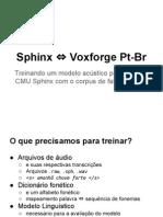 Treinamento Sphinxtrain