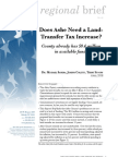 Does Ashe need a land-transfer tax increase?