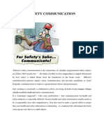 Safety Communication2