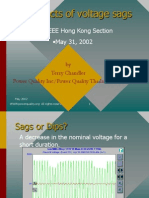 Effects of Voltage Sags