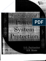 4.Fundamentals of Power System Protection Y G Paithankar